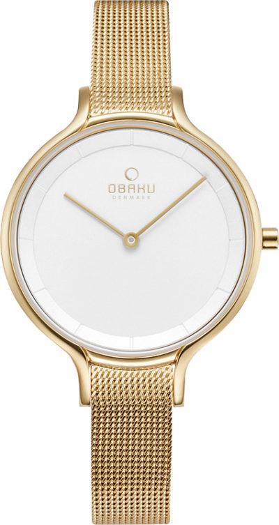 Женские часы Obaku V228LXGIMG фото 1