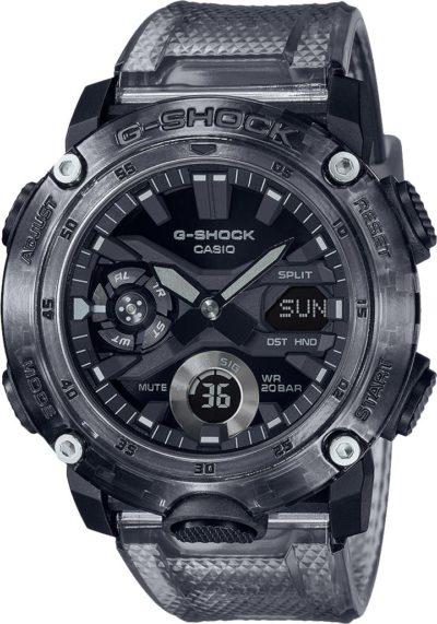 Мужские часы Casio GA-2000SKE-8AER фото 1