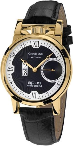 Мужские часы Epos 3383.618.22.65.25 фото 1