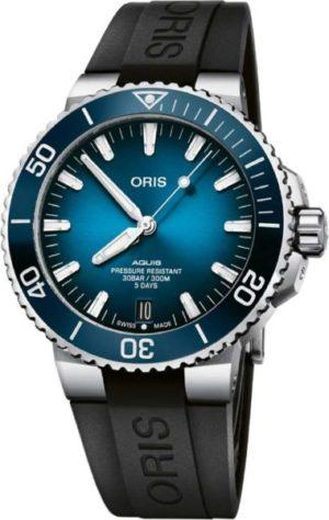 Oris 400-7763-41-35RS Aquis Date