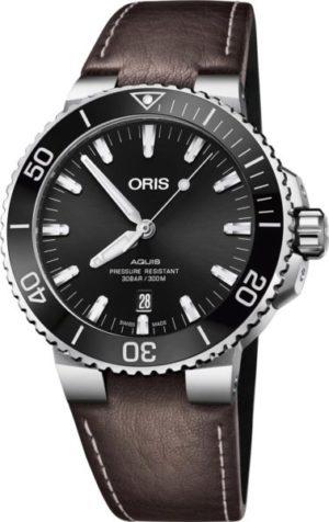 Oris 733-7730-41-34LS Aquis Date