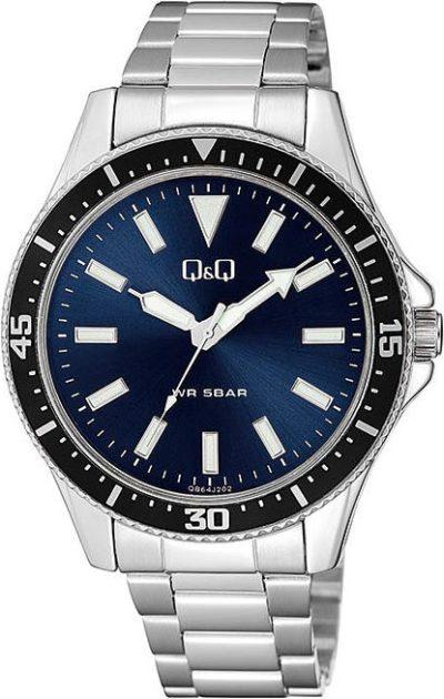 Мужские часы Q&Q QB64J202Y фото 1