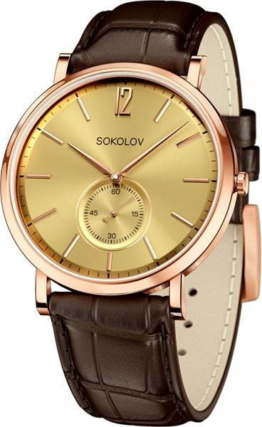 Мужские часы SOKOLOV 109.01.00.000.04.02.3 фото 1