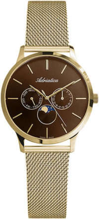 Adriatica A3174.111GQF Moonphase for her