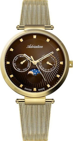 Adriatica A3703.114GQF Moonphase for her