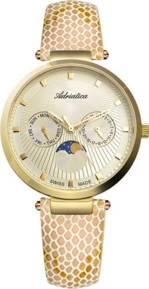 Adriatica A3703.1241QF Moonphase for her