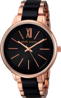 Женские часы Anne Klein 1412BKRG фото 1