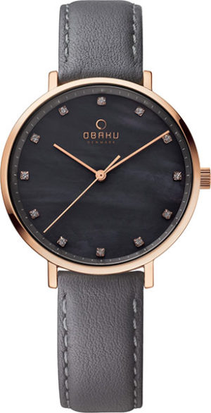 Obaku V186LXVJRJ Leather