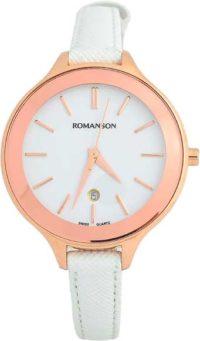 Женские часы Romanson RL4208LR(WH)WH фото 1