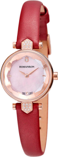 Женские часы Romanson RL6A04QLR(PINK)RED фото 1