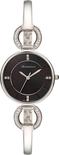 Женские часы Romanson RM7A04QLW(BK) фото 1