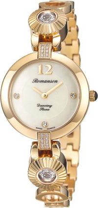 Женские часы Romanson RM8A05QLG(WH) фото 1