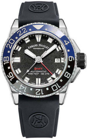 Armand Nicolet A486AGN-NR-GG4710N JS9 GMT
