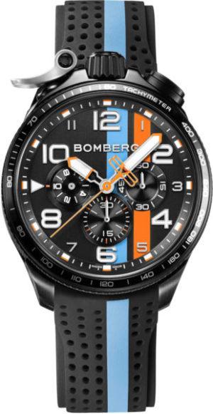 Bomberg BS45CHPBA.059-6.10 Bolt-68 Racing Light Blue Stripe