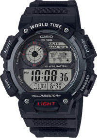 Мужские часы Casio AE-1400WH-1A фото 1