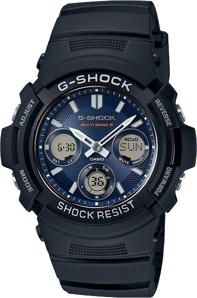 Casio G-Shock AWG-M100SB-2A G-Classic