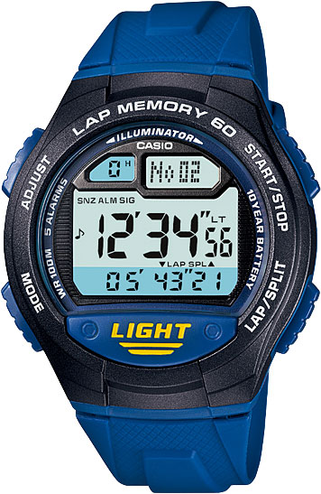 Мужские часы Casio W-734-2A фото 1