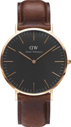 Daniel Wellington DW00100124 Classic Black St Mawes