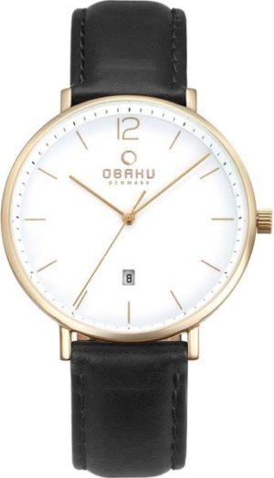 Obaku V181GDGWRB Leather