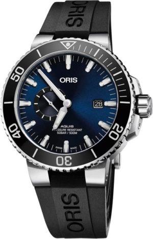 Oris 743-7733-41-35RS Aquis Small Second