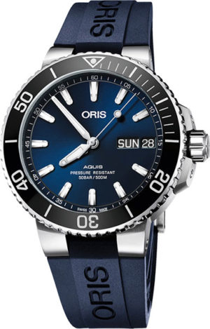 Oris 752-7733-41-35RS Aquis Big Day Date