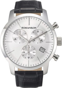 Мужские часы Romanson TL8A19HMW(WH) фото 1