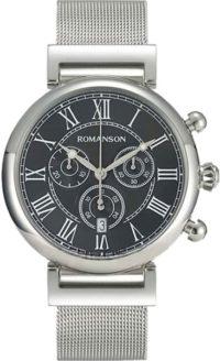 Мужские часы Romanson TM7A08HMW(BK) фото 1