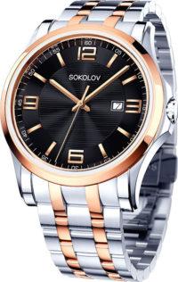 Мужские часы SOKOLOV 301.76.00.000.05.02.3 фото 1