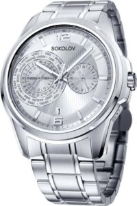 Мужские часы SOKOLOV 340.71.00.000.01.01.3 фото 1