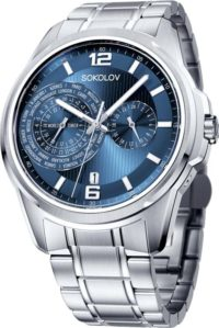 Мужские часы SOKOLOV 340.71.00.000.03.01.3 фото 1