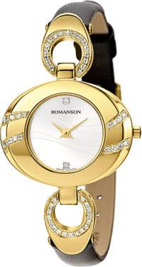 Женские часы Romanson RN0391QLG(WH) фото 1