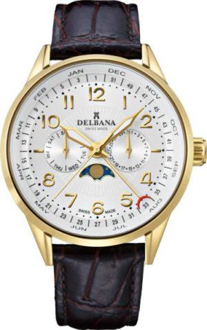 Delbana 42601.646.6.064 Retro Moonphase