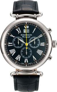 Мужские часы Romanson TL7A13HMW(BK) фото 1