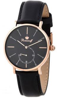 Российские наручные  мужские часы Romanoff 30528B3BL. Коллекция Romanoff фото 1