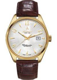 Швейцарские наручные  женские часы Atlantic 11750.45.25G. Коллекция Art. Deco фото 1