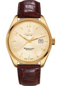 Швейцарские наручные  женские часы Atlantic 11750.45.35G. Коллекция Worldmaster фото 1