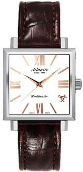 Швейцарские наручные  женские часы Atlantic 14350.41.18R. Коллекция Worldmaster фото 1
