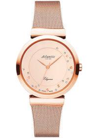 Швейцарские наручные  женские часы Atlantic 29039.44.79MB. Коллекция Elegance фото 1
