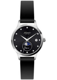 Швейцарские наручные  женские часы Atlantic 29040.41.67L. Коллекция Elegance фото 1