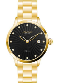 Швейцарские наручные  женские часы Atlantic 29142.45.67MB. Коллекция Elegance фото 1