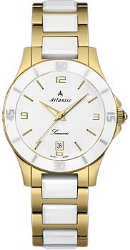 Швейцарские наручные  женские часы Atlantic 92345.55.15. Коллекция Searamic фото 1