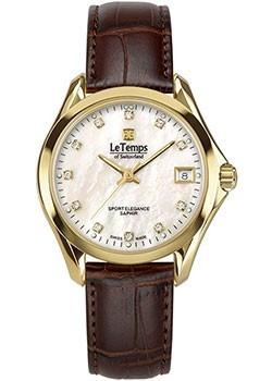 Швейцарские наручные  женские часы Le Temps LT1030.88BL62. Коллекция Sport Elegance фото 1