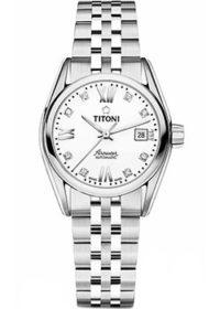 Швейцарские наручные  женские часы Titoni 23909-S-063. Коллекция Airmaster фото 1