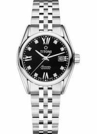 Швейцарские наручные  женские часы Titoni 23909-S-354. Коллекция Airmaster фото 1