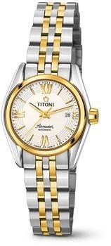 Швейцарские наручные  женские часы Titoni 23909-SY-342. Коллекция Airmaster фото 1