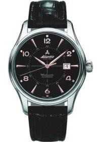 Швейцарские наручные  мужские часы Atlantic 52752.41.65R. Коллекция Worldmaster фото 1