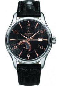 Швейцарские наручные  мужские часы Atlantic 52755.41.65R. Коллекция Worldmaster фото 1