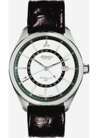 Швейцарские наручные  мужские часы Atlantic 53752.41.21. Коллекция Worldmaster фото 1