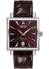 Швейцарские наручные  мужские часы Atlantic 54350.41.81. Коллекция Worldmaster фото 1