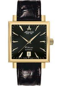 Швейцарские наручные  мужские часы Atlantic 54750.45.61. Коллекция Worldmaster фото 1